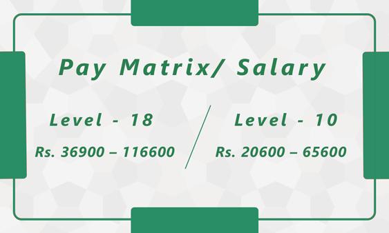 Group 2 Pay Matrix / Salary from Innovation academy