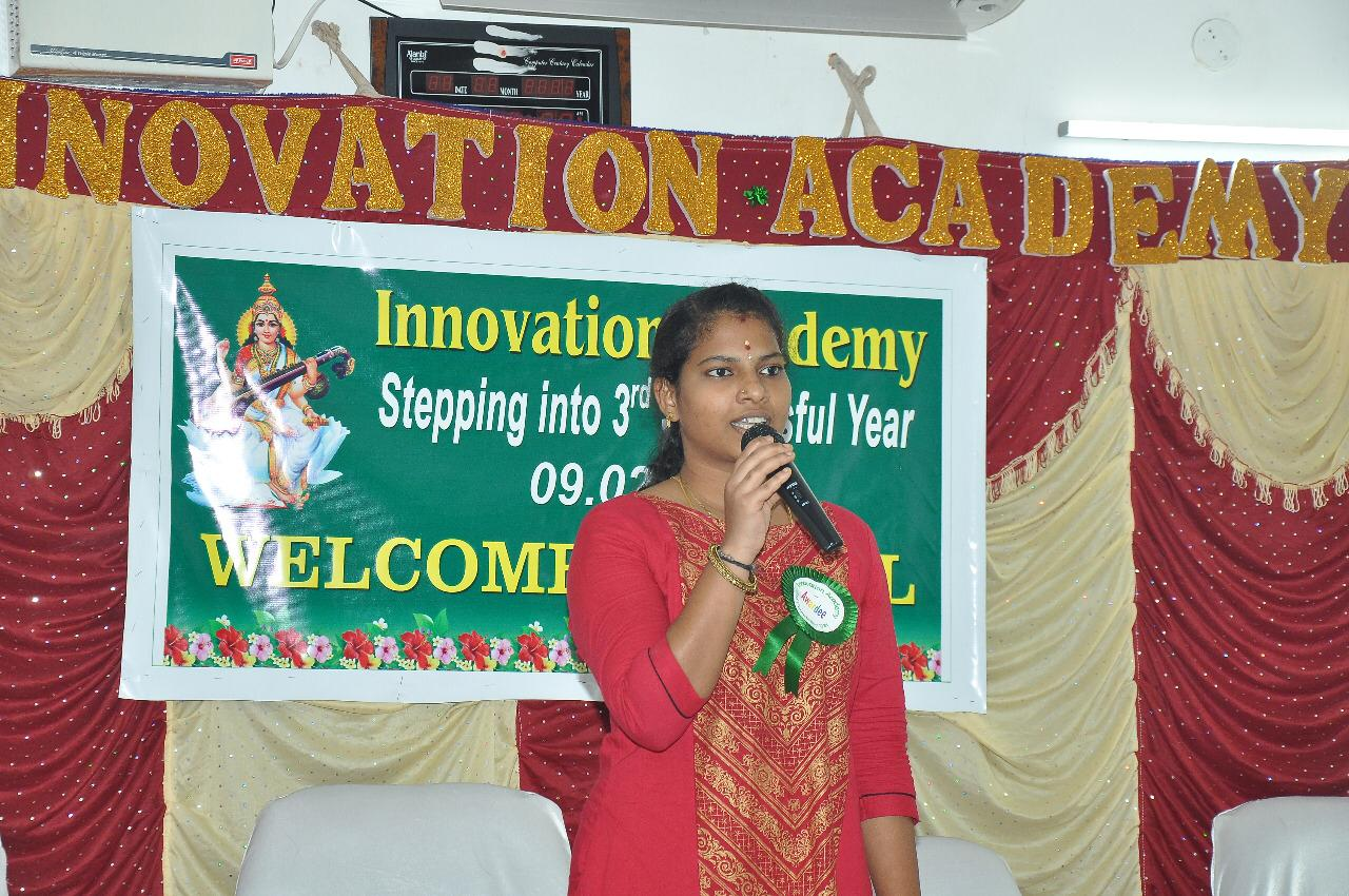 Addressing the gathering on 3rd year successful completion function
